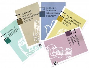 Colección editorial ECO 30 años