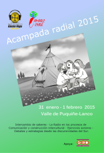 Eco participa en acampada radial de Amarc Chile
